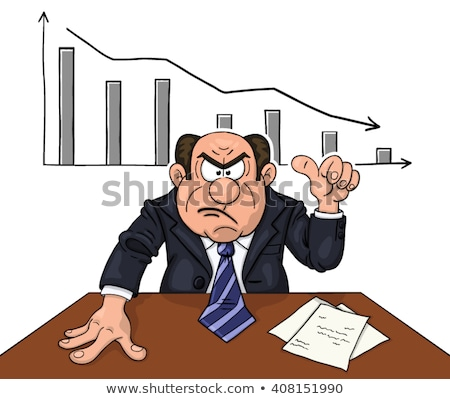 Irate bald businessman Stock photo © photography33