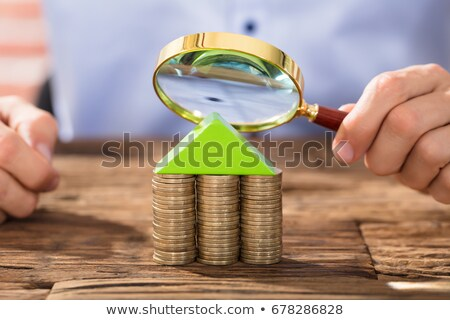 Inspector with a house made of money Stock photo © photography33
