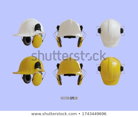 Foreman with ear defenders Stock photo © photography33