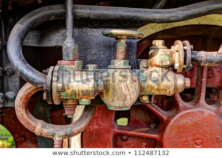 öreg rozsdás szelep tank ipari részlet Stock fotó © kikkerdirk