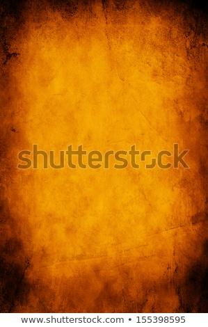 Koszos halloween halloween tök fű telihold arc Stock fotó © WaD