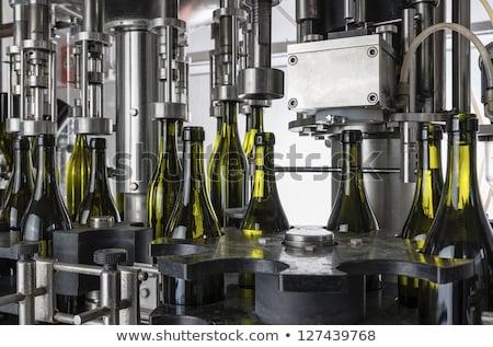borászat · gyár · fotó · modern · alumínium · bor - stock fotó © deyangeorgiev