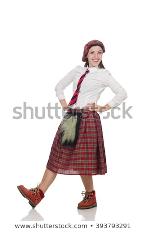 nice woman dancer posing stock photo © feedough