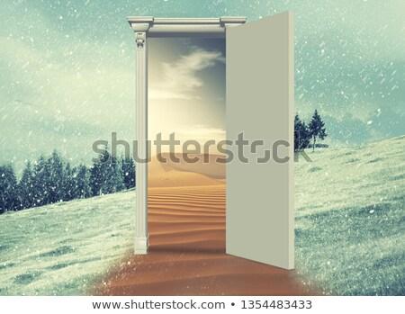 heating in freezing winter temperatures stock photo © lightpoet