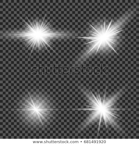abstract burst with neon effects eps 8 stock photo © beholdereye