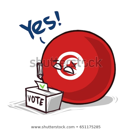 Ballot box Tunisia Stock photo © Ustofre9