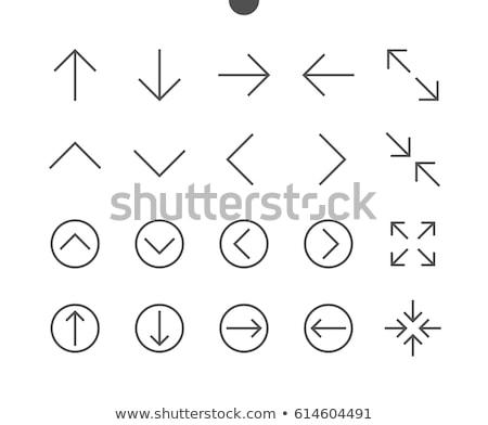up arrow top web interface icon stock photo © make
