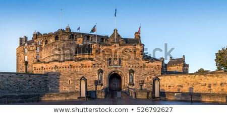 edinburgh castle scotland stock photo © tanart