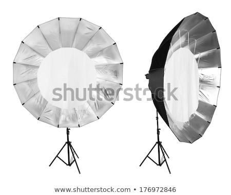 Studio flash zawodowych używany fotograf Zdjęcia stock © jarp17