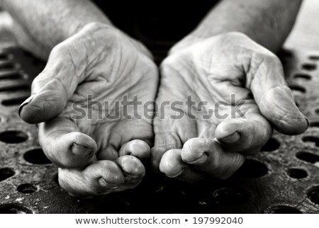 Old Lady's hands open Stock photo © fenton