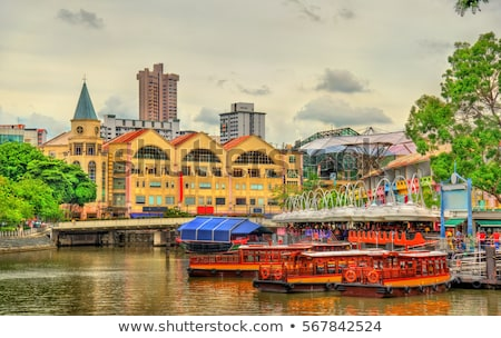 singapore riverside stock photo © joyr