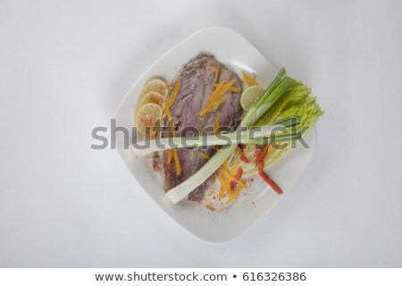 Salted mullet fishes Stock photo © digitalr