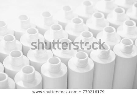Bottiglie fabbrica bianco plastica ambiente Foto d'archivio © lunamarina