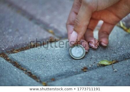 Euro iş adam yeşil alışveriş Stok fotoğraf © iqoncept