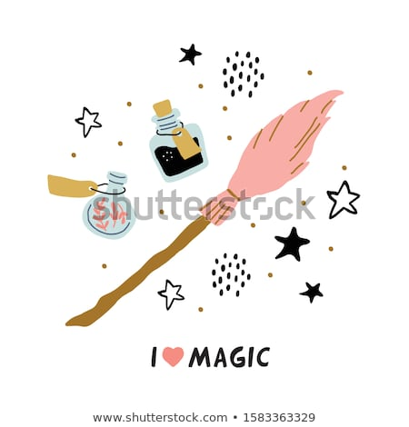 Magia assinar eps 10 fundo estrelas Foto stock © HelenStock