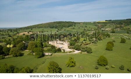 замок дома природы саду довольно английский Сток-фото © jayfish