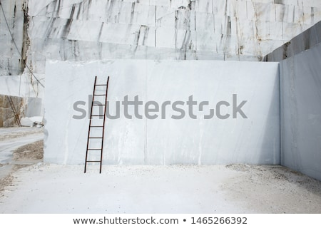 White marble quarry Stock photo © Nneirda