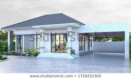 nowoczesne · apartamentu · domów · budynku · morza - zdjęcia stock © elxeneize