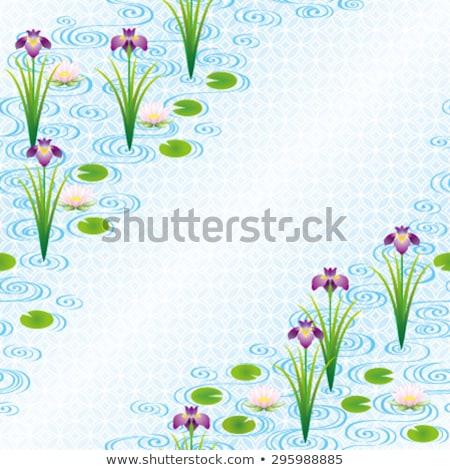 Stock photo: blood seamless pattern