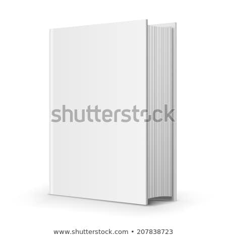 図書 表示 白 紙 教育 脂肪 ストックフォト © iunewind