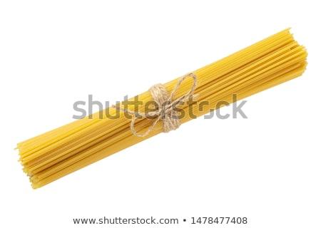 greggio · spaghetti · giallo · isolato · bianco · alimentare - foto d'archivio © Rob_Stark