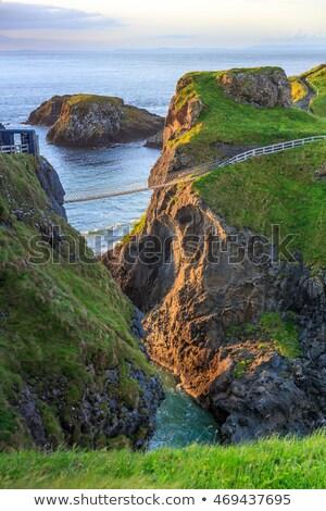 海景 北方 アイルランド 海 緑 青 ストックフォト © phbcz