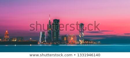 Skyline of Batumi, Georgia Stock photo © joyr