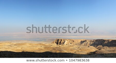 Panoramic view over the Dead sea Stock photo © Zhukow