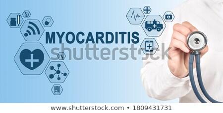 médico · relatório · pílulas · seringa · diagnóstico · 3d · render - foto stock © tashatuvango