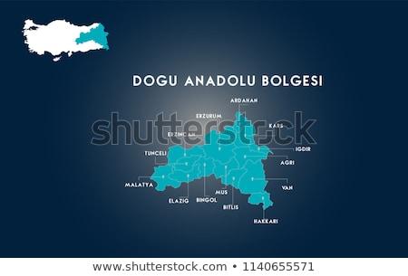 Map of Turkey, Ardahan Stock photo © Istanbul2009