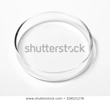 color liquid in petri dishes isolated on white background stock photo © tetkoren