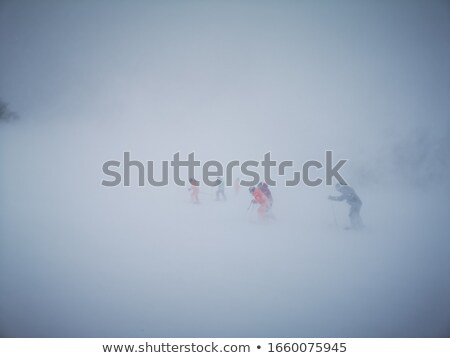 Bad weather in the mountains stock photo © Kotenko