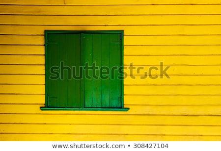 LA színes környék Buenos Aires ház textúra Stock fotó © fotoquique