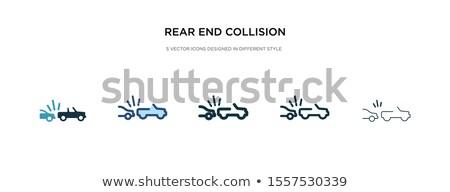 panneaux · de · signalisation · routière · isolé · blanche · fond · groupe - photo stock © netkov1