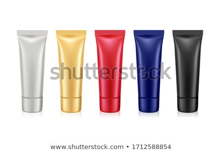 A medical tube container with a red lid Stock photo © bluering