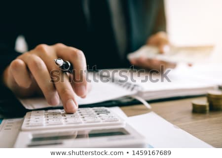 Inflation Calculator Stock photo © idesign
