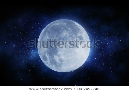 blue moon and space Stock photo © romvo