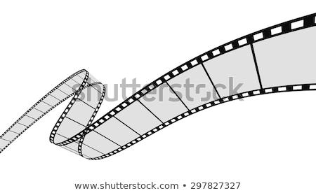 tiszta · filmszalag · vektor · film · háttér · film - stock fotó © SArts