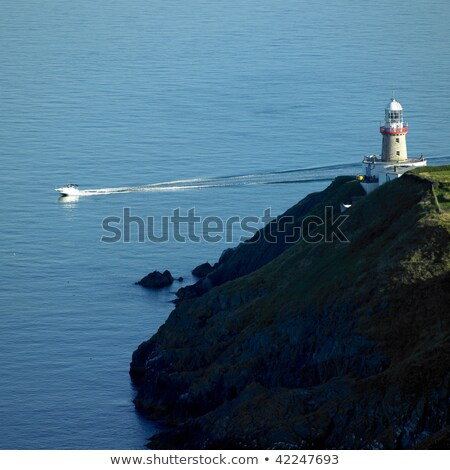 lighthouse, Howth, County Dublin, Ireland Stock photo © phbcz