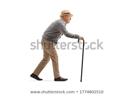 старик тростник Creative медицина здравоохранения наркотики Сток-фото © Fisher