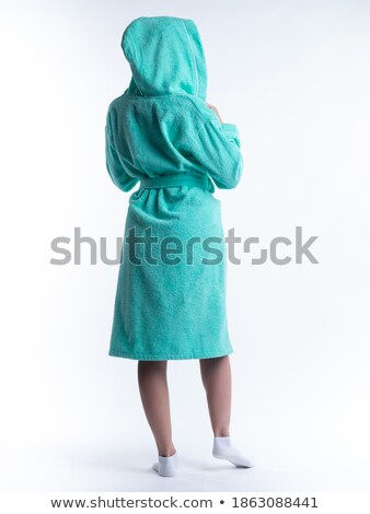 Woman in dressing gown Stock photo © IS2