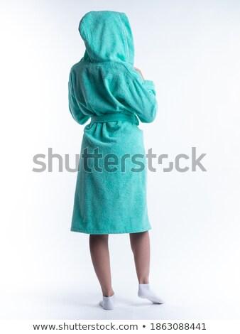 женщину одевание платье портрет цвета женщины Сток-фото © IS2