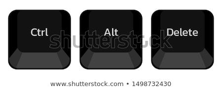 Delete on Keyboard Key Concept. Stock photo © tashatuvango