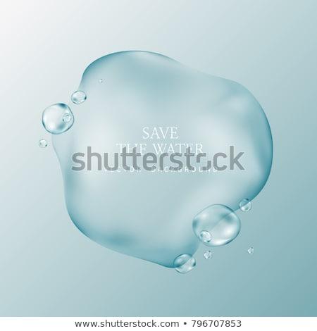 ar · bubbles · água · fresco · legal · branco - foto stock © romvo