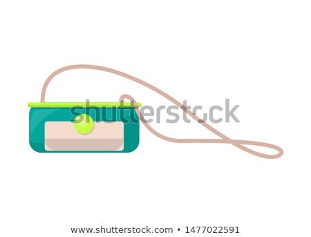 明るい 小 財布 長い ストラップ 女性 ストックフォト © robuart