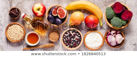 coleção · conjunto · naturalmente · comida · fundo - foto stock © unikpix