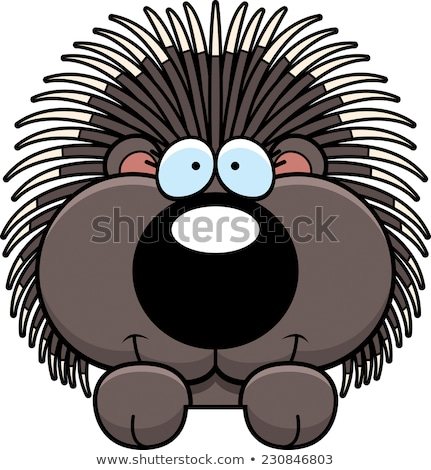 ストックフォト: 漫画 · 実例 · 幸せ · 動物 · 笑みを浮かべて · ベクトル