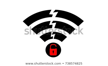 Wpa2 wireless protocol vulnerability Krack is serious threat for remote internet connection Stock photo © SwillSkill