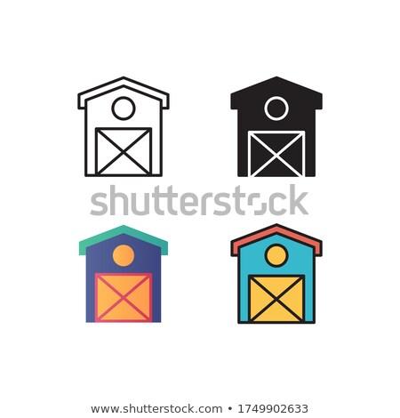 Diverso design costruzione occidentale stili illustrazione Foto d'archivio © colematt