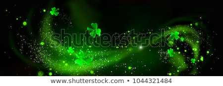Green beverage for St Patricks Day Stock photo © BarbaraNeveu